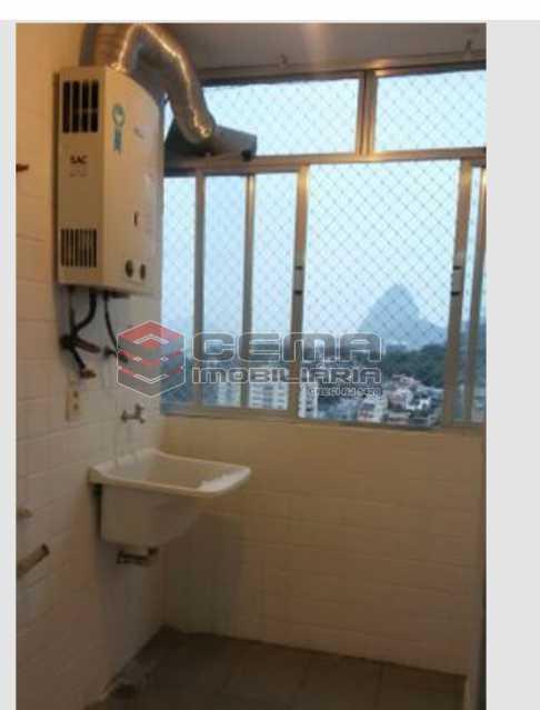 Área de serviço - Apartamento 3 quartos para alugar Laranjeiras, Zona Sul RJ - R$ 2.900 - LAAP33791 - 18