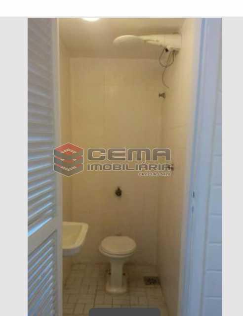 Banheiro de serviço - Apartamento 3 quartos para alugar Laranjeiras, Zona Sul RJ - R$ 2.900 - LAAP33791 - 19