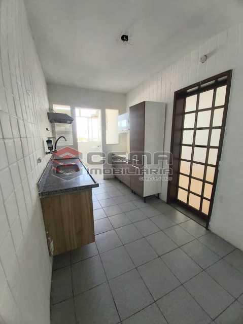 Cozinha - Apartamento 3 quartos para alugar Laranjeiras, Zona Sul RJ - R$ 2.900 - LAAP33791 - 16