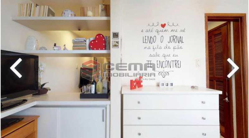 quarto - Apartamento à venda Praia de Botafogo,Botafogo, Zona Sul RJ - R$ 600.000 - LAAP12492 - 8