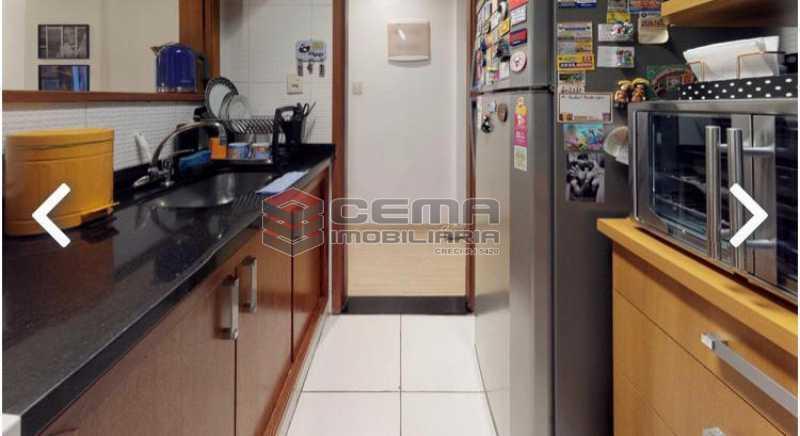 cozinha - Apartamento à venda Praia de Botafogo,Botafogo, Zona Sul RJ - R$ 600.000 - LAAP12492 - 9