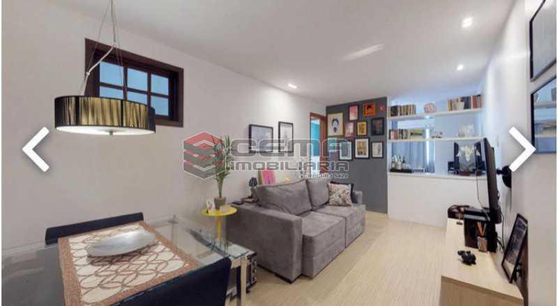 sala - Apartamento à venda Praia de Botafogo,Botafogo, Zona Sul RJ - R$ 600.000 - LAAP12492 - 3