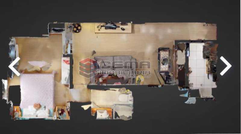 planta - Apartamento à venda Praia de Botafogo,Botafogo, Zona Sul RJ - R$ 600.000 - LAAP12492 - 12