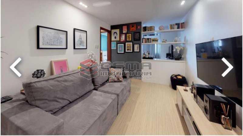 sala - Apartamento à venda Praia de Botafogo,Botafogo, Zona Sul RJ - R$ 600.000 - LAAP12492 - 4
