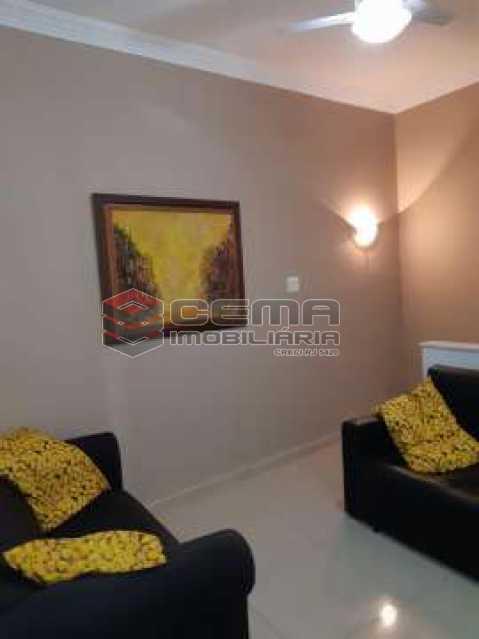 1 - Apartamento 1 quarto à venda Botafogo, Zona Sul RJ - R$ 535.000 - LAAP12519 - 3