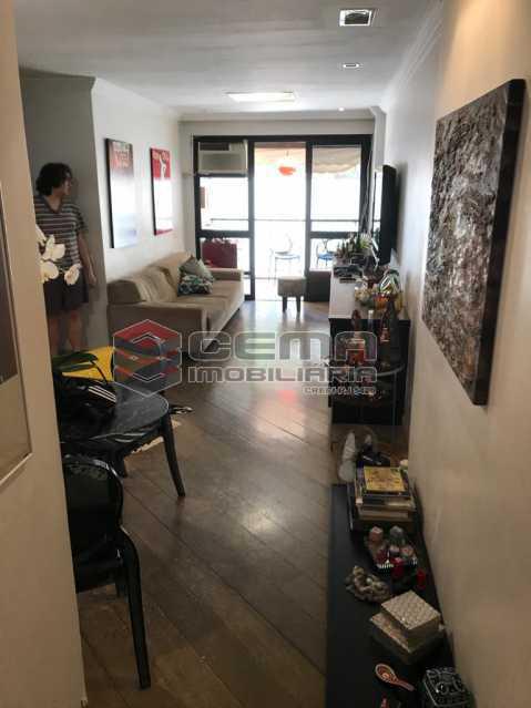 1 - Apartamento 2 quartos à venda Humaitá, Zona Sul RJ - R$ 825.000 - LAAP24534 - 3