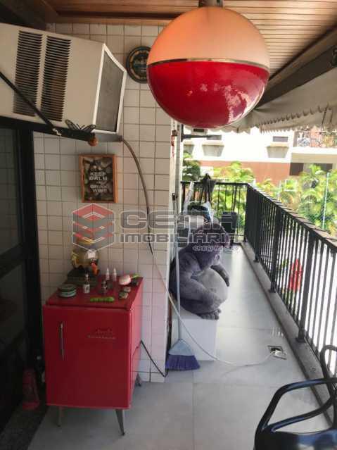 4 - Apartamento 2 quartos à venda Humaitá, Zona Sul RJ - R$ 825.000 - LAAP24534 - 5