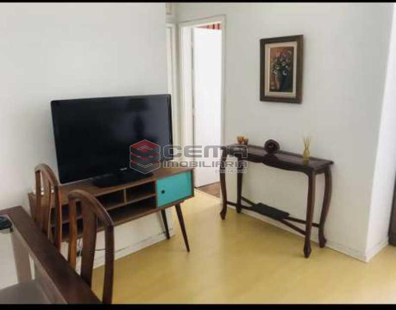 1 - Apartamento 1 quarto à venda Glória, Zona Sul RJ - R$ 450.000 - LAAP12555 - 4