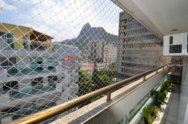 Varanda Lateral Vista para a F - Cobertura à venda Rua Visconde de Silva,Botafogo, Zona Sul RJ - R$ 2.790.000 - LACO30274 - 11