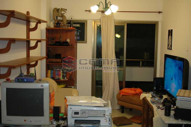 Sala de TV - Cobertura à venda Rua Visconde de Silva,Botafogo, Zona Sul RJ - R$ 2.790.000 - LACO30274 - 16