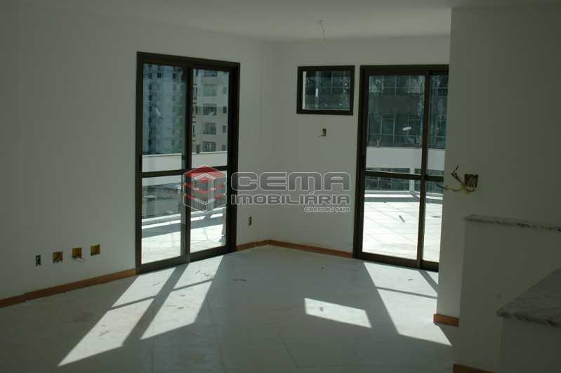 Salão Foto 2 - Cobertura à venda Rua Visconde de Silva,Botafogo, Zona Sul RJ - R$ 2.790.000 - LACO30274 - 19