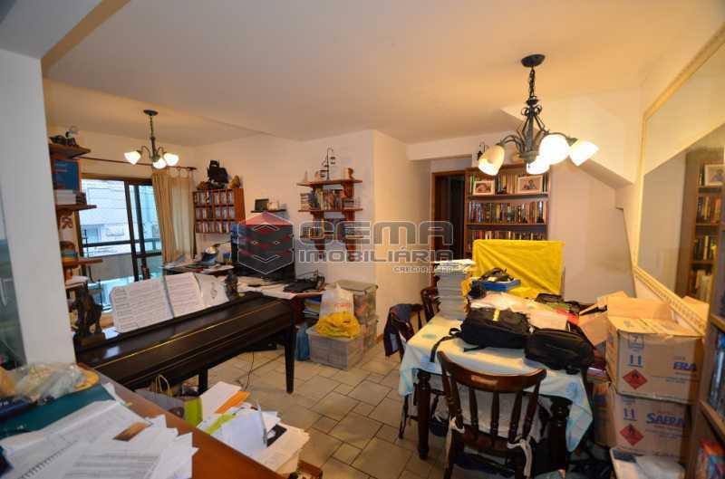 Salas de TV e Jantar - Cobertura à venda Rua Visconde de Silva,Botafogo, Zona Sul RJ - R$ 2.790.000 - LACO30274 - 22