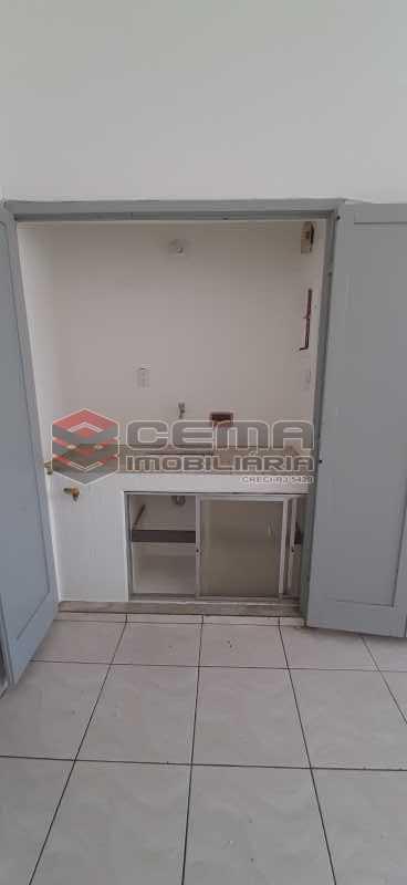 Cozinha - Kitnet/Conjugado 26m² para alugar Laranjeiras, Zona Sul RJ - R$ 800 - LAKI01334 - 5