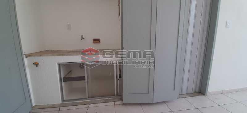 Cozinha - Kitnet/Conjugado 26m² para alugar Laranjeiras, Zona Sul RJ - R$ 800 - LAKI01334 - 4