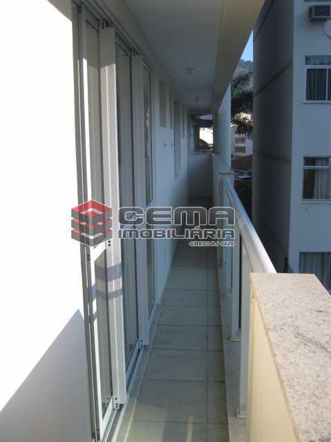 varanda - Apartamento 2 quartos para alugar Botafogo, Zona Sul RJ - R$ 3.800 - LAAP24645 - 4