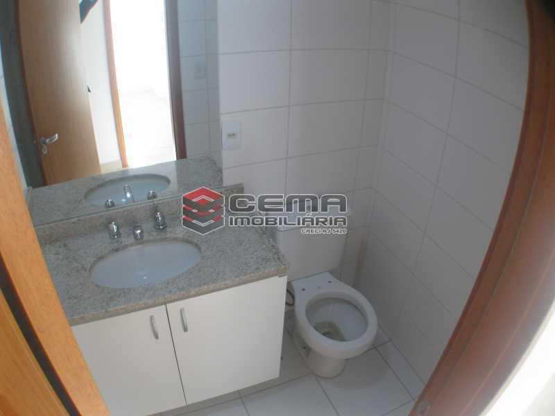 banheiro social - Apartamento 2 quartos para alugar Botafogo, Zona Sul RJ - R$ 3.650 - LAAP24647 - 10
