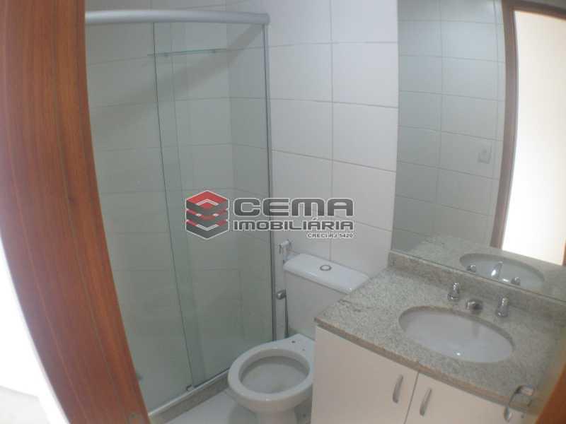 suíte banheiro - Apartamento 2 quartos para alugar Botafogo, Zona Sul RJ - R$ 3.650 - LAAP24647 - 17