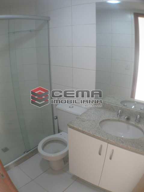 suíte banheiro - Apartamento 2 quartos para alugar Botafogo, Zona Sul RJ - R$ 3.650 - LAAP24647 - 16