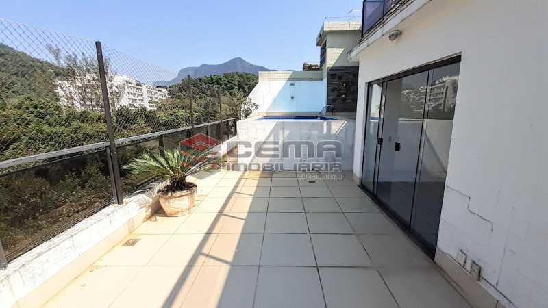 Área Externa - Cobertura 4 quartos para alugar Leblon, Zona Sul RJ - R$ 12.000 - LACO40147 - 26