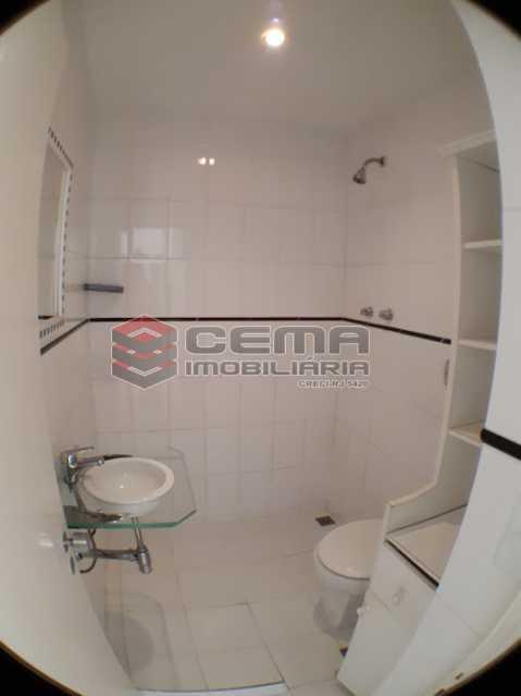 banheiro social 2 - Apartamento 2 quartos para alugar Botafogo, Zona Sul RJ - R$ 2.800 - LAAP24689 - 10