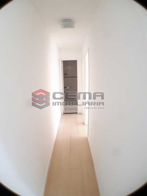 circulação - Apartamento 2 quartos para alugar Botafogo, Zona Sul RJ - R$ 2.800 - LAAP24689 - 6