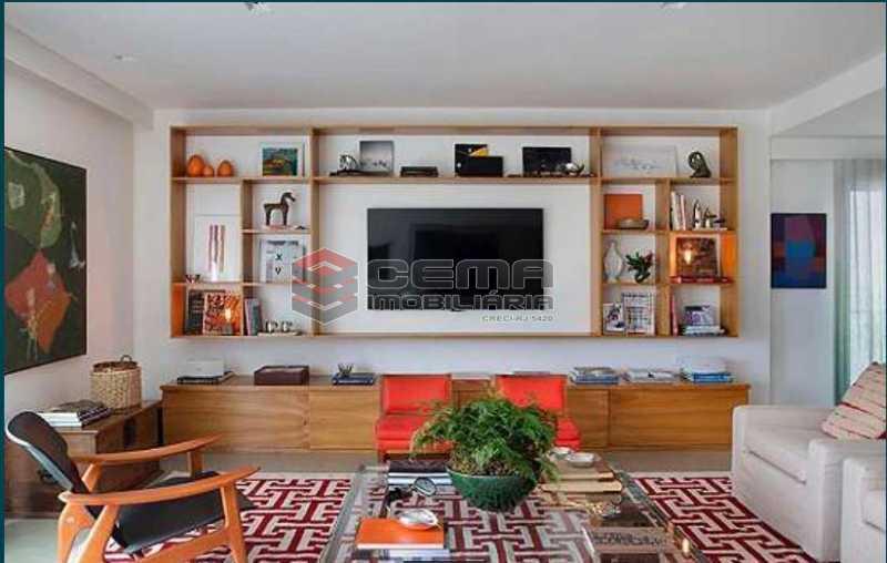 1 - Apartamento à venda Rua Sacopa,Lagoa, Zona Sul RJ - R$ 3.300.000 - LAAP40882 - 1