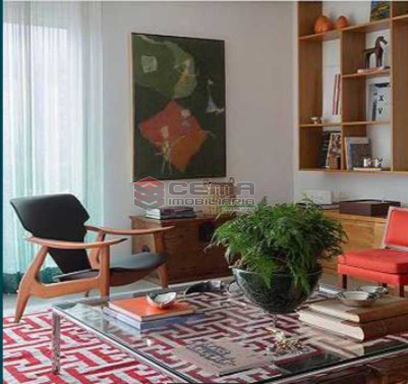 8 - Apartamento à venda Rua Sacopa,Lagoa, Zona Sul RJ - R$ 3.300.000 - LAAP40882 - 5