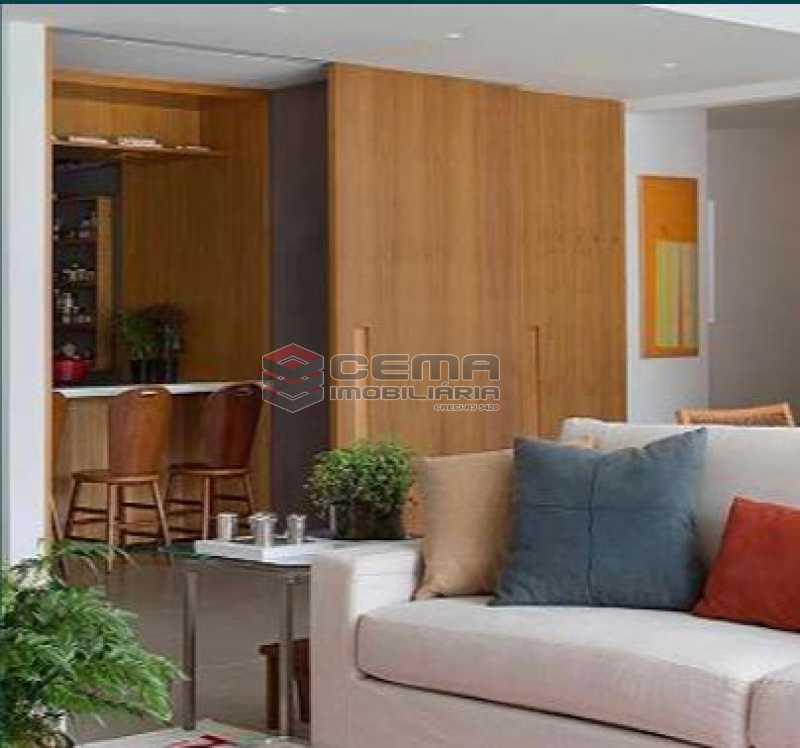 10 - Apartamento à venda Rua Sacopa,Lagoa, Zona Sul RJ - R$ 3.300.000 - LAAP40882 - 4