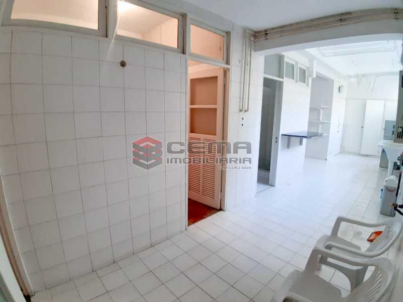 área de serviço  - Apartamento 4 quartos no Parque Guinle-Laranjeiras-RJ - LAAP40883 - 18