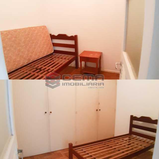 duas dependências  - Apartamento 4 quartos no Parque Guinle-Laranjeiras-RJ - LAAP40883 - 20