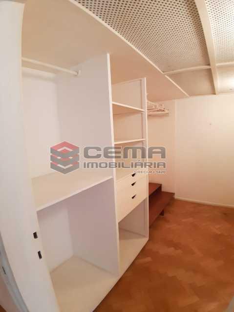closet da primeira suite  - Apartamento 4 quartos no Parque Guinle-Laranjeiras-RJ - LAAP40883 - 8