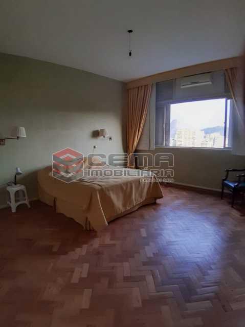 primeira suíte  - Apartamento 4 quartos no Parque Guinle-Laranjeiras-RJ - LAAP40883 - 7