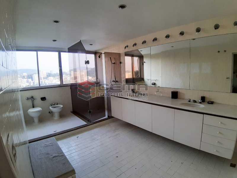banheiro suíte 1 - Apartamento 4 quartos no Parque Guinle-Laranjeiras-RJ - LAAP40883 - 9