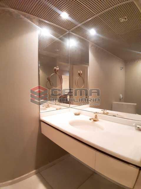 lavabo  - Apartamento 4 quartos no Parque Guinle-Laranjeiras-RJ - LAAP40883 - 15