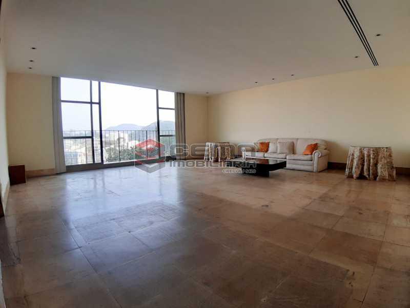 sala - Apartamento 4 quartos no Parque Guinle-Laranjeiras-RJ - LAAP40883 - 4