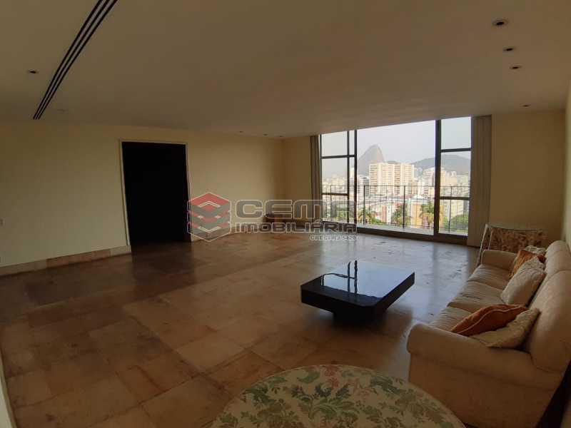 sala - Apartamento 4 quartos no Parque Guinle-Laranjeiras-RJ - LAAP40883 - 21