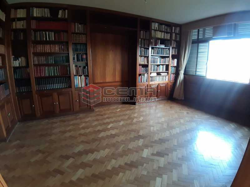 biblioteca  - Apartamento 4 quartos no Parque Guinle-Laranjeiras-RJ - LAAP40883 - 6