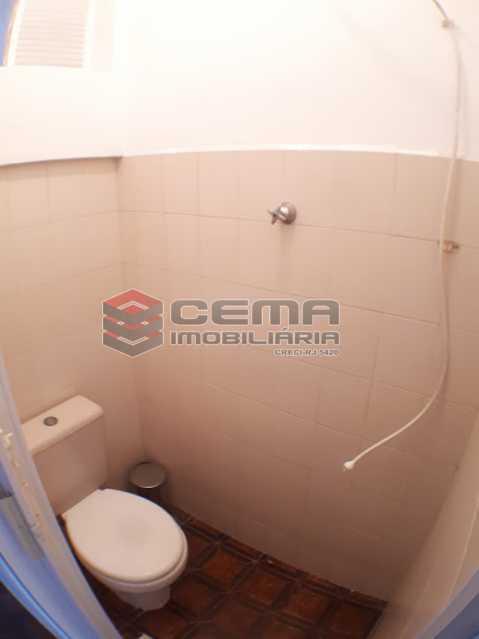banheiro de serviço - Apartamento 2 quartos no Flamengo - Aluguel - LAAP24737 - 19