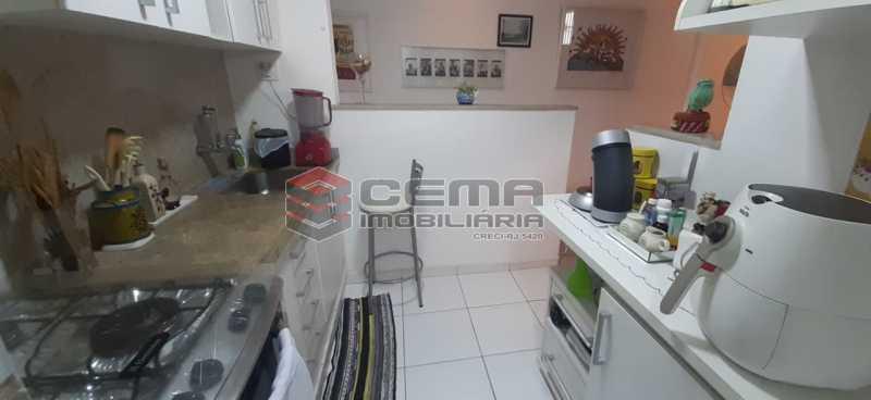 cozinha - Apartamento à venda Rua Voluntários da Pátria,Humaitá, Zona Sul RJ - R$ 600.000 - LAAP12634 - 7
