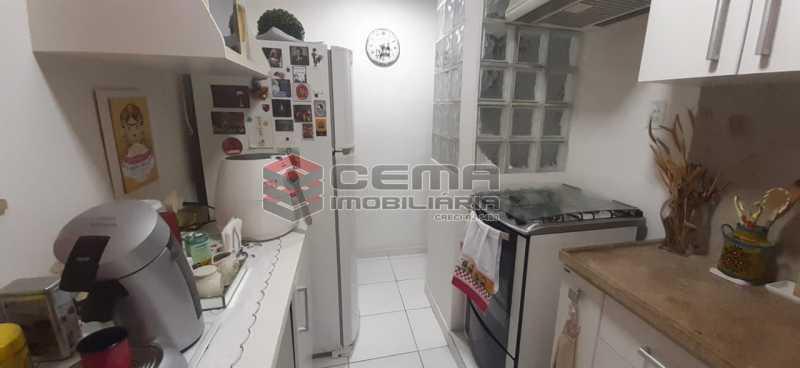cozinha - Apartamento à venda Rua Voluntários da Pátria,Humaitá, Zona Sul RJ - R$ 600.000 - LAAP12634 - 8