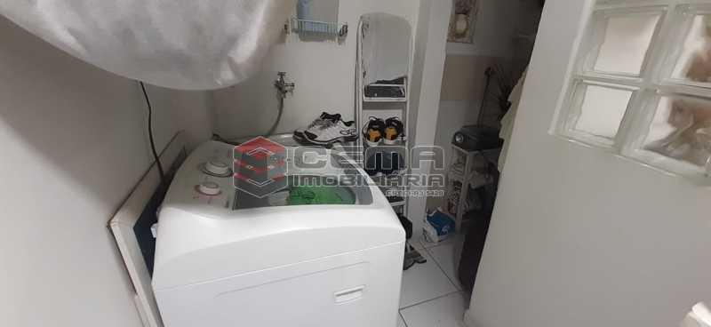 area - Apartamento à venda Rua Voluntários da Pátria,Humaitá, Zona Sul RJ - R$ 600.000 - LAAP12634 - 19