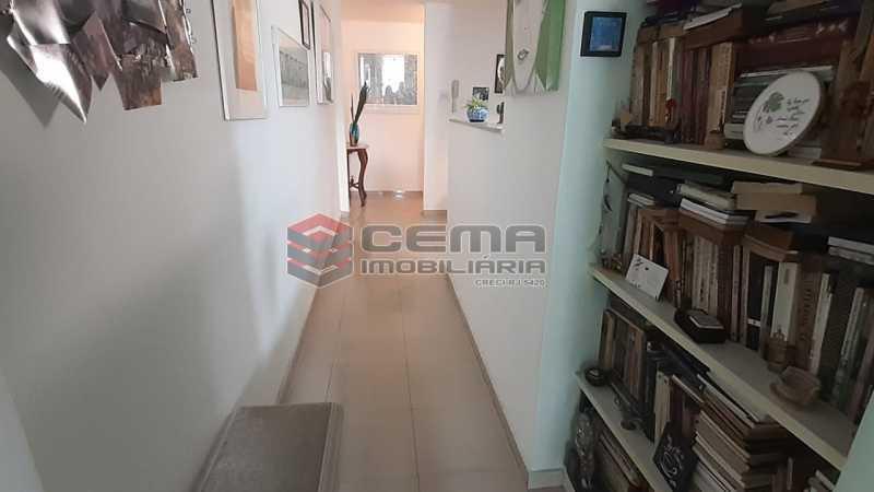 circulação - Apartamento à venda Rua Voluntários da Pátria,Humaitá, Zona Sul RJ - R$ 600.000 - LAAP12634 - 5