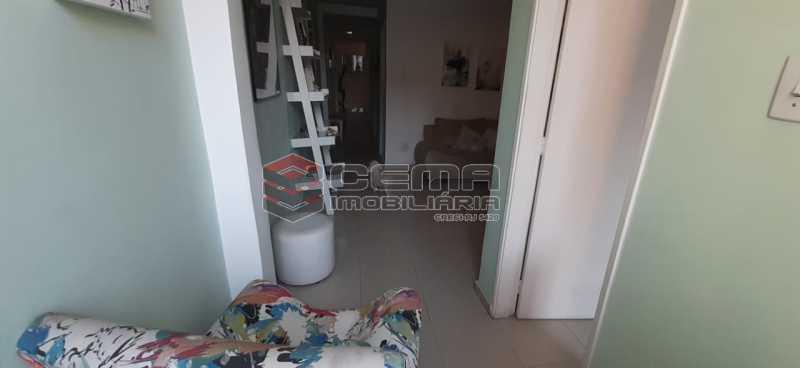 area - Apartamento à venda Rua Voluntários da Pátria,Humaitá, Zona Sul RJ - R$ 600.000 - LAAP12634 - 20