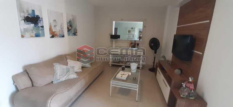 sala - Apartamento à venda Rua Voluntários da Pátria,Humaitá, Zona Sul RJ - R$ 600.000 - LAAP12634 - 3