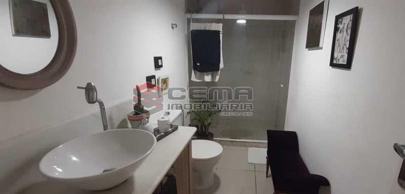banheiro - Apartamento à venda Rua Voluntários da Pátria,Humaitá, Zona Sul RJ - R$ 600.000 - LAAP12634 - 17