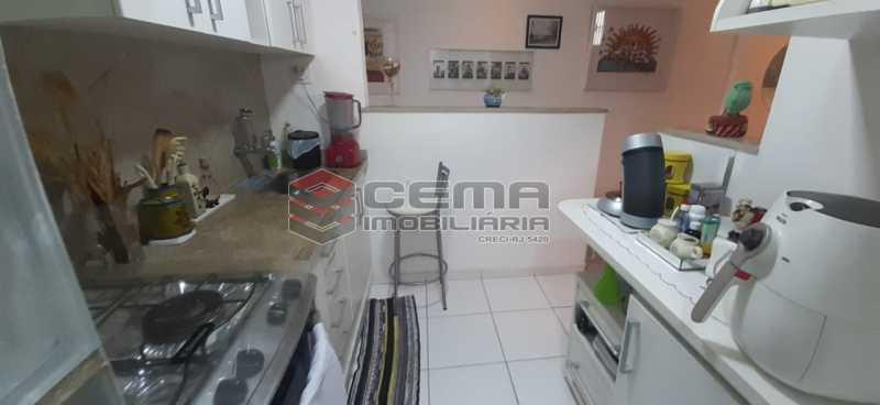 cozinha - Apartamento à venda Rua Voluntários da Pátria,Humaitá, Zona Sul RJ - R$ 600.000 - LAAP12634 - 14