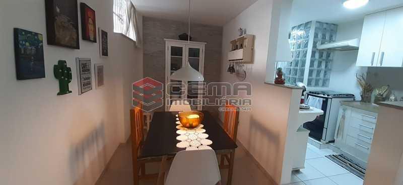 sala - Apartamento à venda Rua Voluntários da Pátria,Humaitá, Zona Sul RJ - R$ 600.000 - LAAP12634 - 4