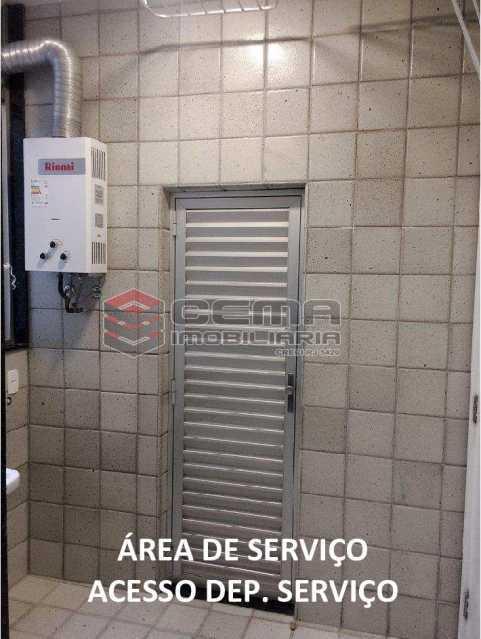 area de servico c dependencia - APARTAMENTO 2 QUARTOS COM SUITE, BOTAFOGO, PRÓXIMO COBAL - LAAP24746 - 19