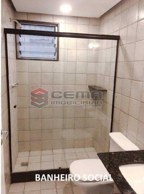 banheiro social 2 - APARTAMENTO 2 QUARTOS COM SUITE, BOTAFOGO, PRÓXIMO COBAL - LAAP24746 - 12