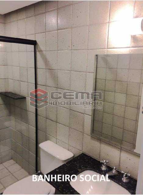 banheiro social - APARTAMENTO 2 QUARTOS COM SUITE, BOTAFOGO, PRÓXIMO COBAL - LAAP24746 - 13